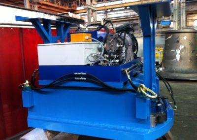 Hydraulikpresse für Eisengiesserei